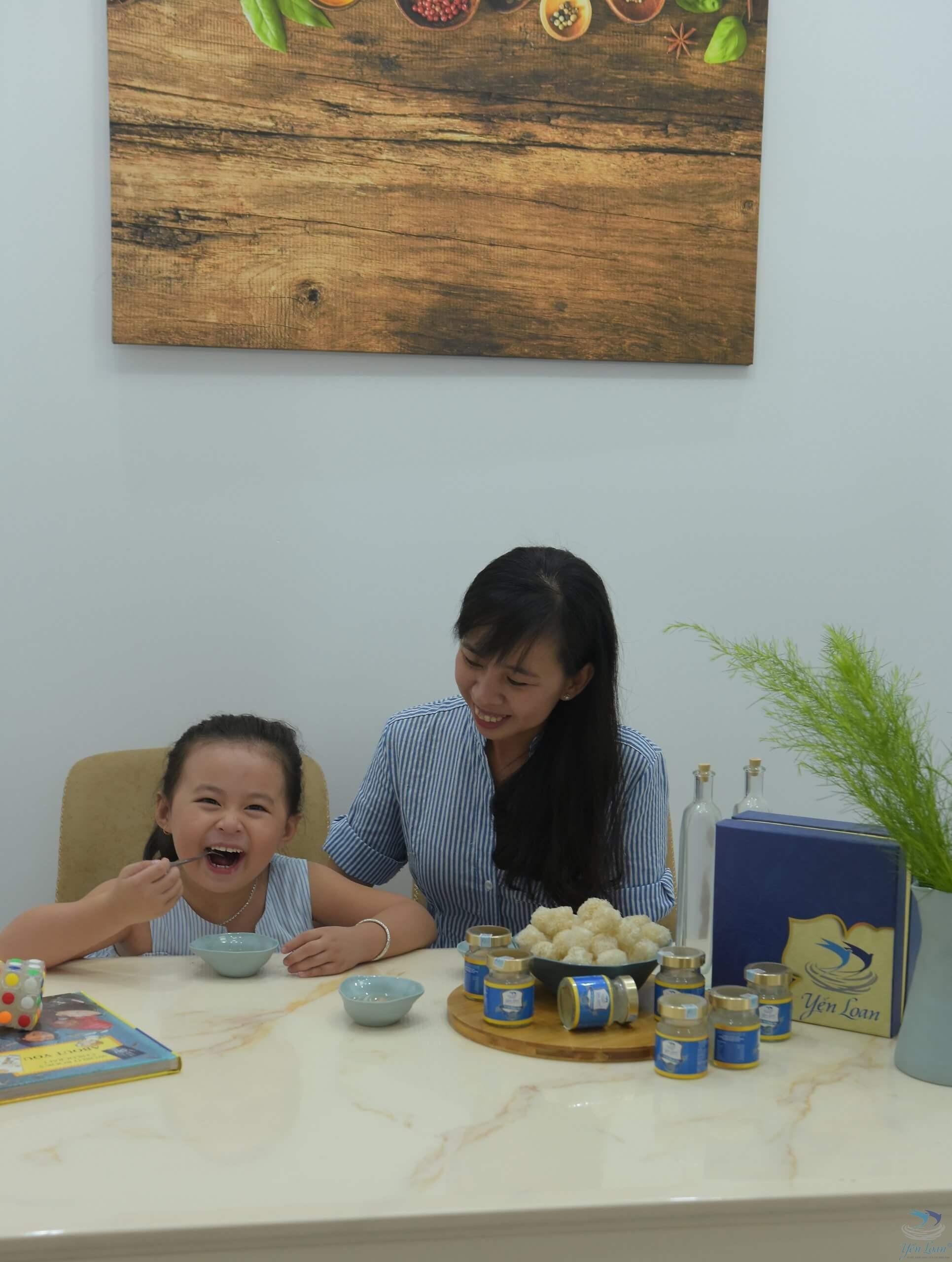 Ăn yến giúp bé thông minh, tăng cường sức khỏe và hệ miễn dịch