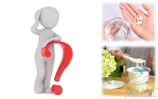 Uống thuốc tây liệu có nên ăn yến?