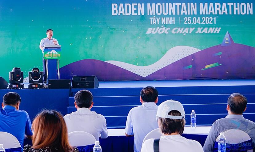 Khai mạc giải chạy Baden Mountain Marathon 2021 - Lần đầu tiên được tổ chức tại Tây Ninh