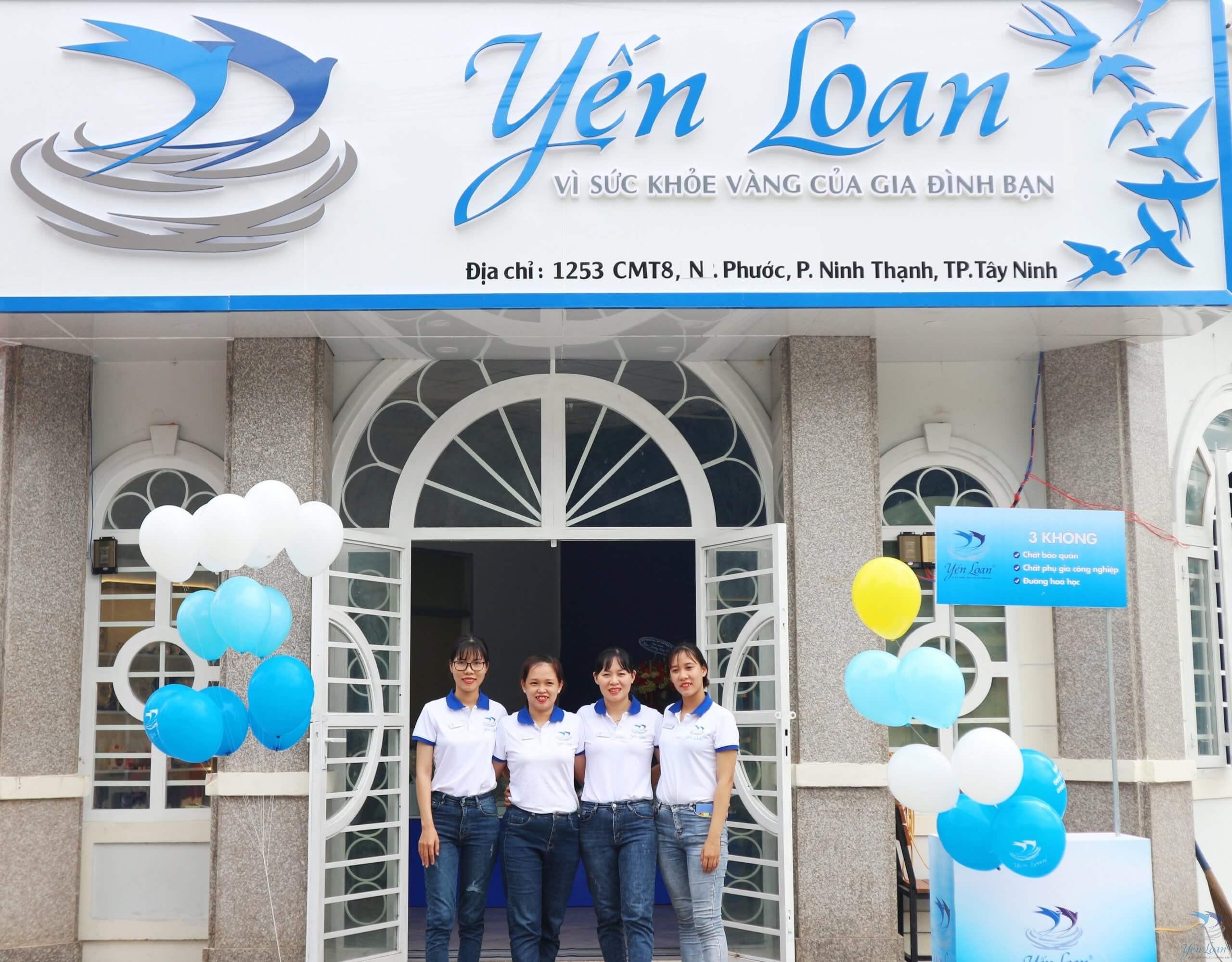 Yến Sào Yến Loan khai trương chi nhánh mới