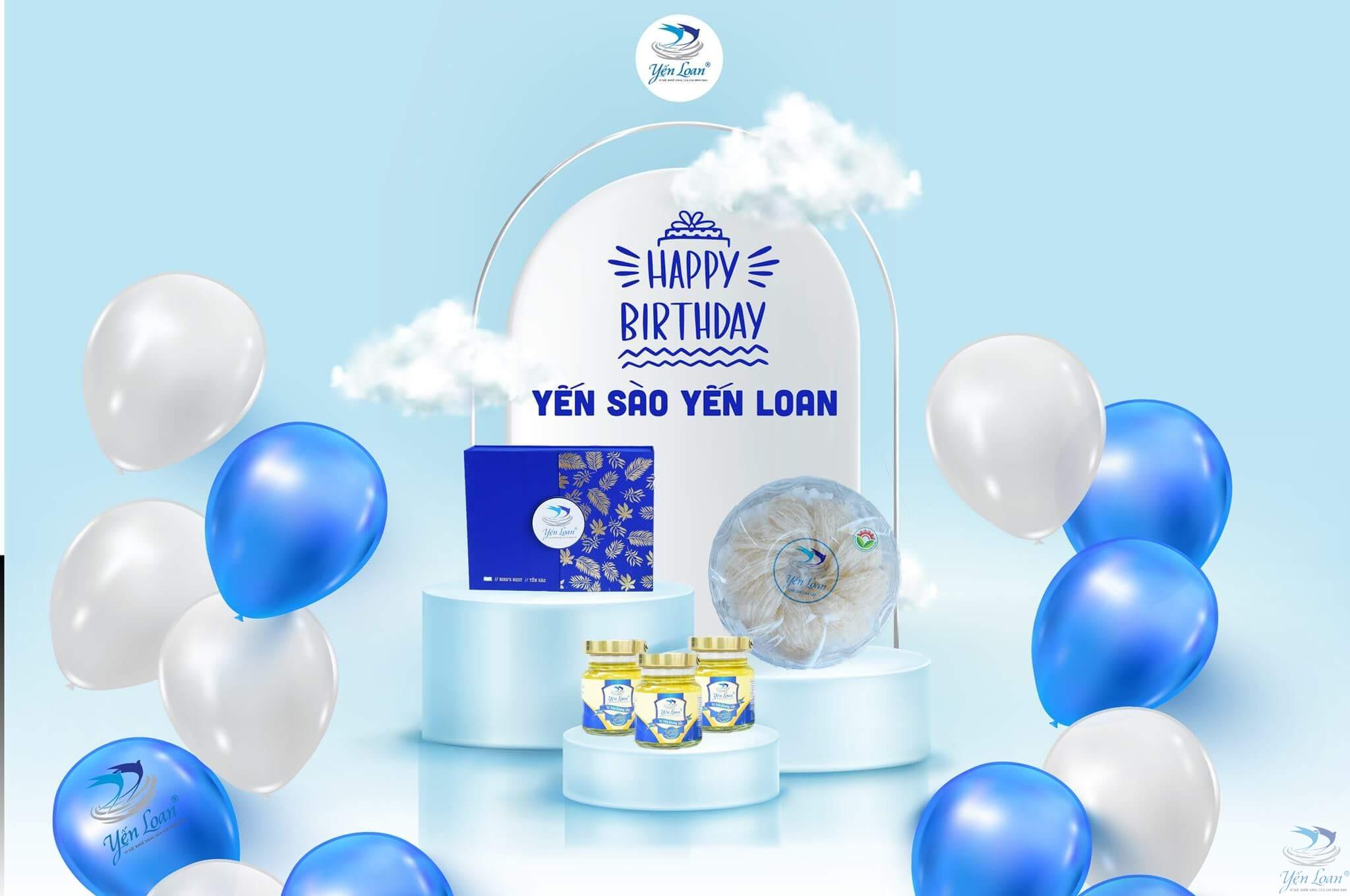 Mừng sinh nhật Yến Loan, tưng bừng khuyến mãi quà tặng