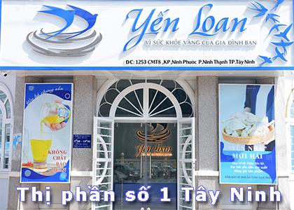 Yến sào Yến Loan tự hào là công ty có thị phần số 1 Tây Ninh