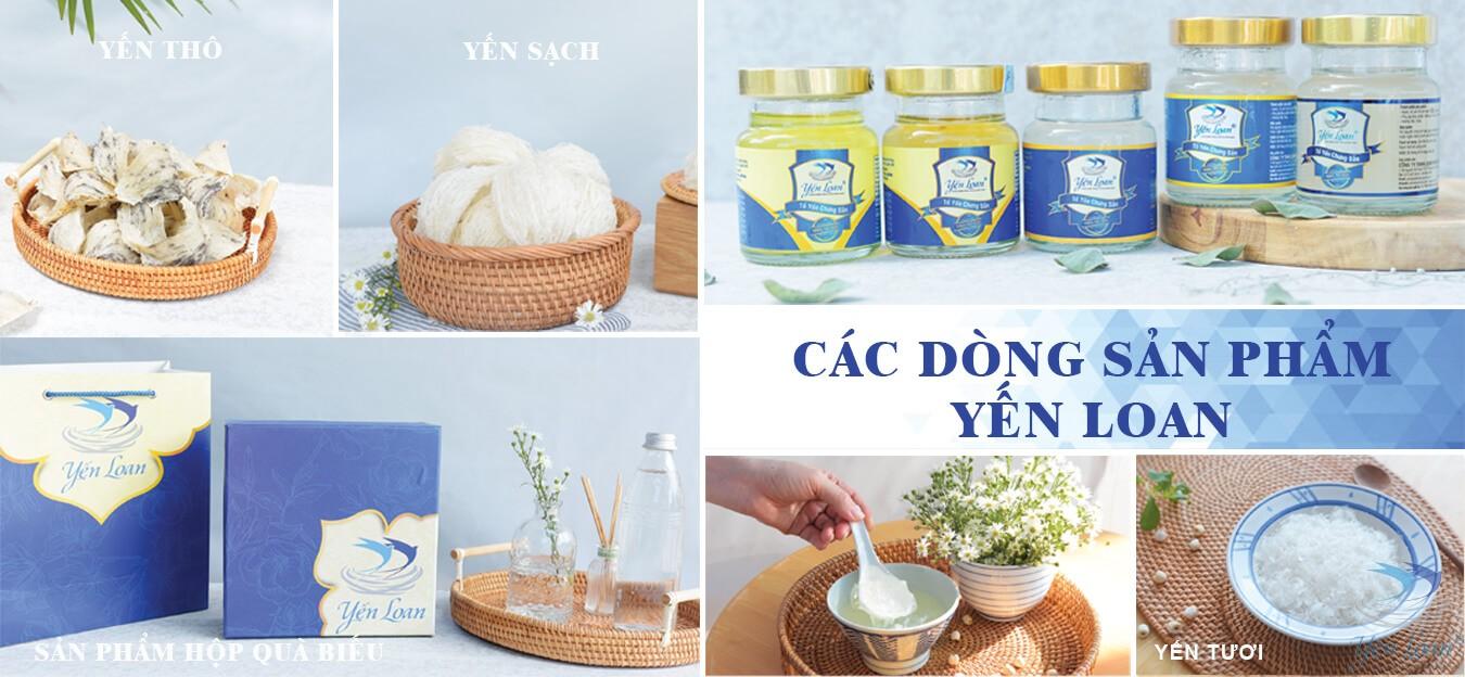 Món quà sức khỏe cho gia đình Việt - Yến sào Yến Loan
