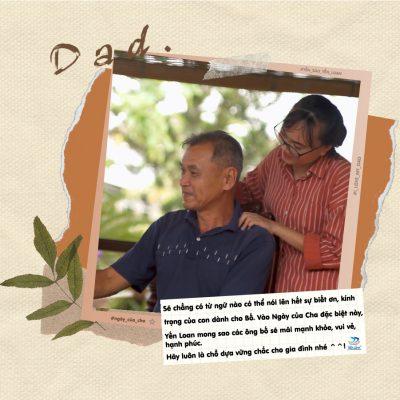 Cha ơi, Cha hãy luôn là chỗ dựa vững chắc cho cả gia đình nhé