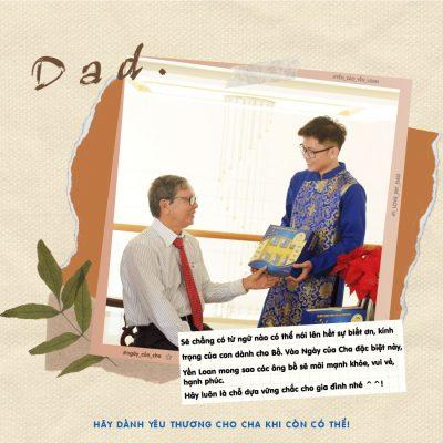 Dành yêu thương cho cha khi còn có thể