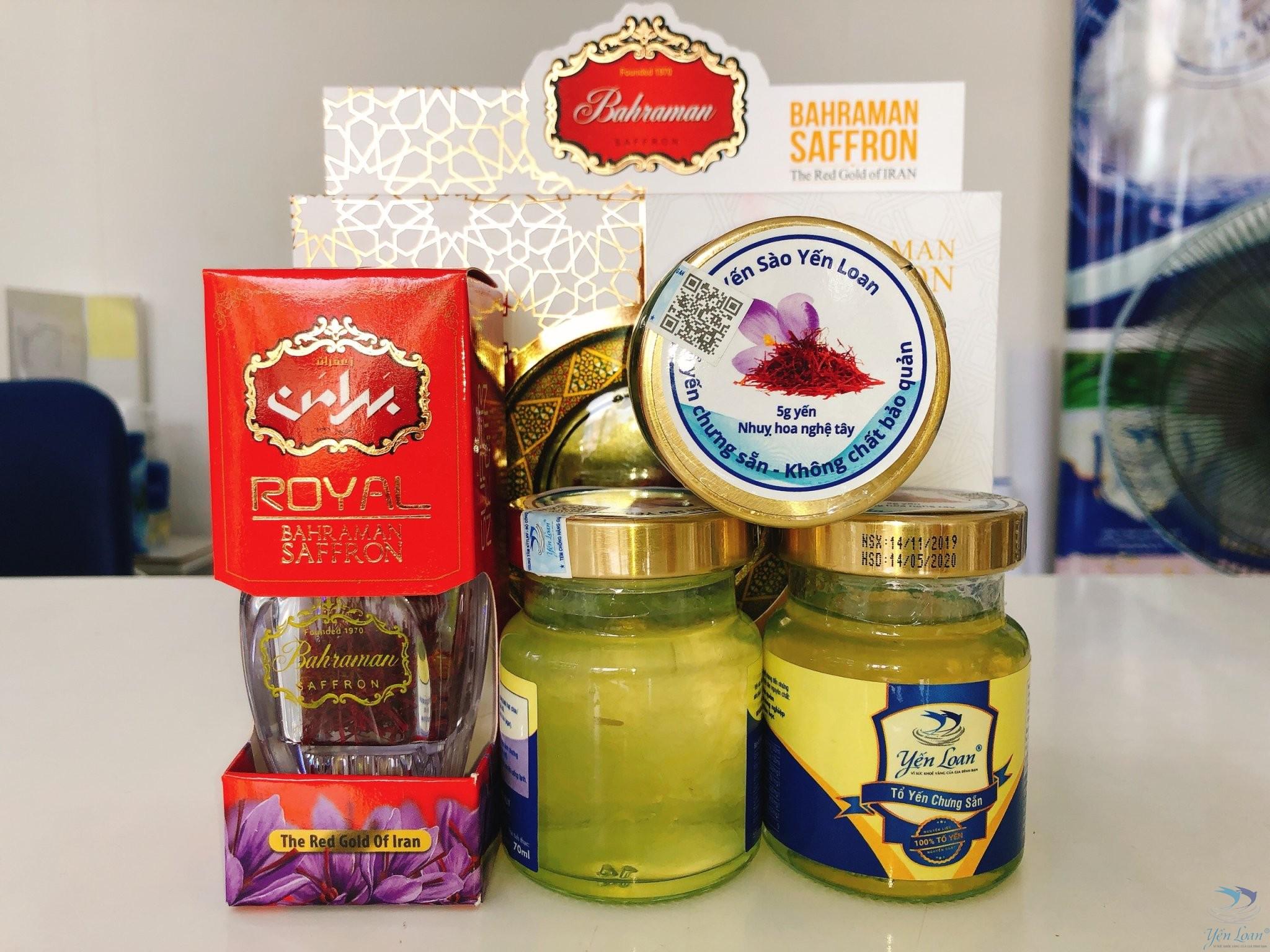 Yến chưng saffron Tây Á – Món quà đến từ thiên nhiên
