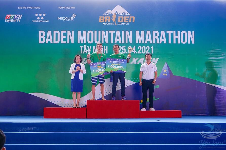 Khai mạc Baden Mountain Marathon 2021 đầy sôi động và hào hứng