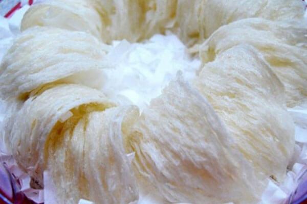 Yến sạch nguyên tổ rút lông