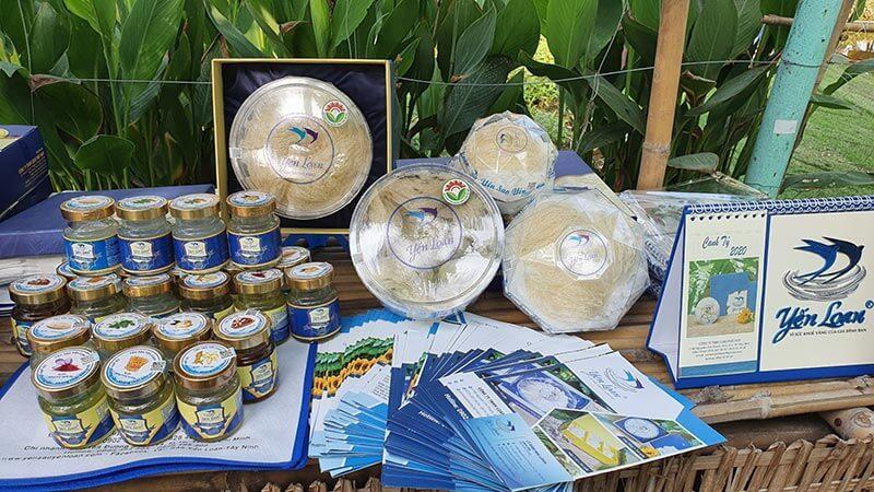 Yến loan tham gia chuỗi cung ứng thực phẩm sạch