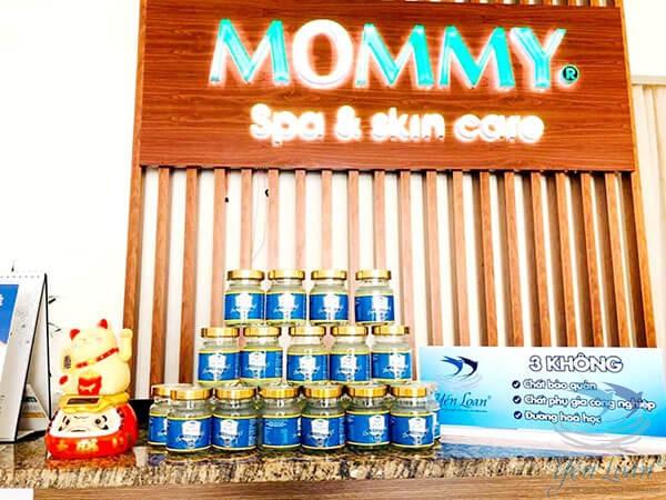 Yến sào yến loan hợp tác cùng Mommy spa