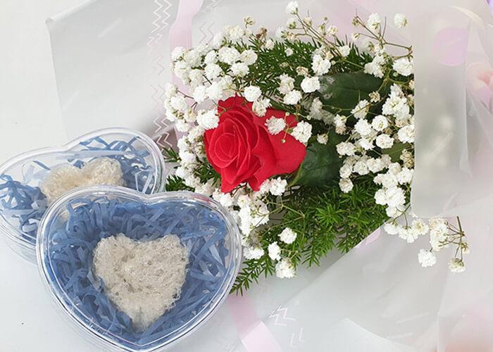 Yến sào món quà Valentin